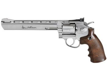 REVOLVER DAN WESSON CHROME 8''  cal.4,5mm Co2