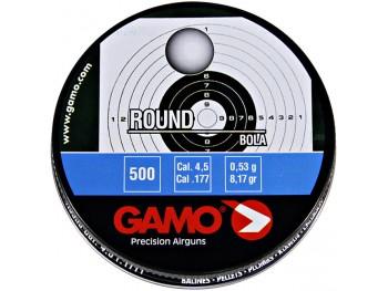 Boîte de 500 Plombs GAMO ROUND 4.5MM