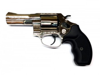 Revolver Bruni New 380 3 pouces chrome 9mm rk a blanc