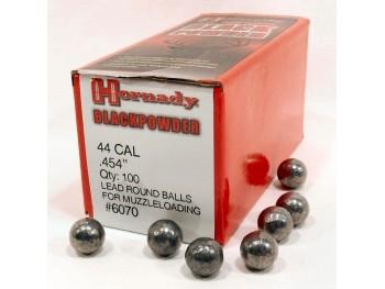 Balles Rondes CAL 44-454 Hornady boite de 100