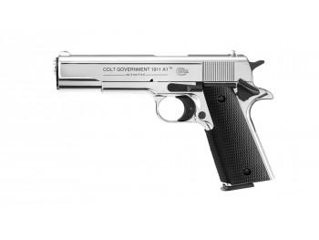 PISTOLET Colt Governement 1911 A1 CHROME 9MM PAK