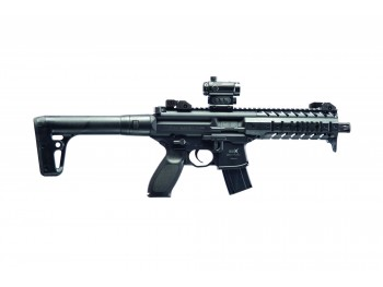 CARABINE SIG SAUER MPX CO2 4,5 MM PLOMBS + POINT ROUGE SIG 20R