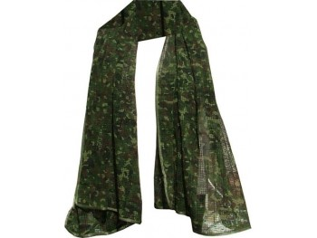 Echarpe camouflage maillée