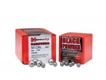 Balles rondes cal 31-315/.32 Hornady boite de 100
