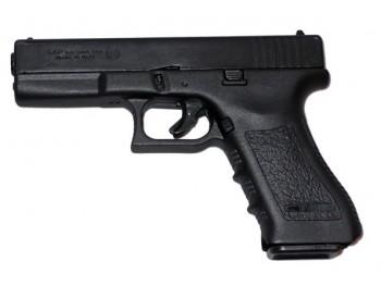 Pistolet Bruni Gap noir à blanc