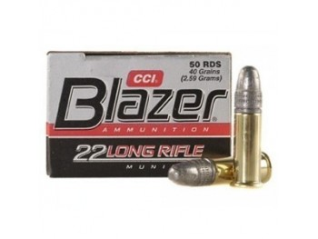Blazer 22 long rifle high velocity boite de 50