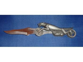 Couteau Leopard Moto