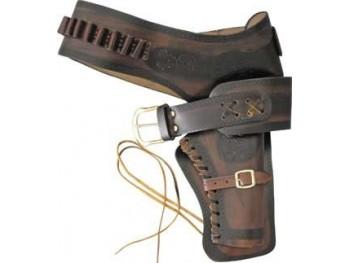 5685a1960cf Ceinturon simple holster avec cartouchiere + 22 balles
